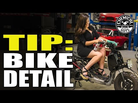 How To: Motorcycle Cleaning And Detailing Basics - Chemical Guys Just The Tip