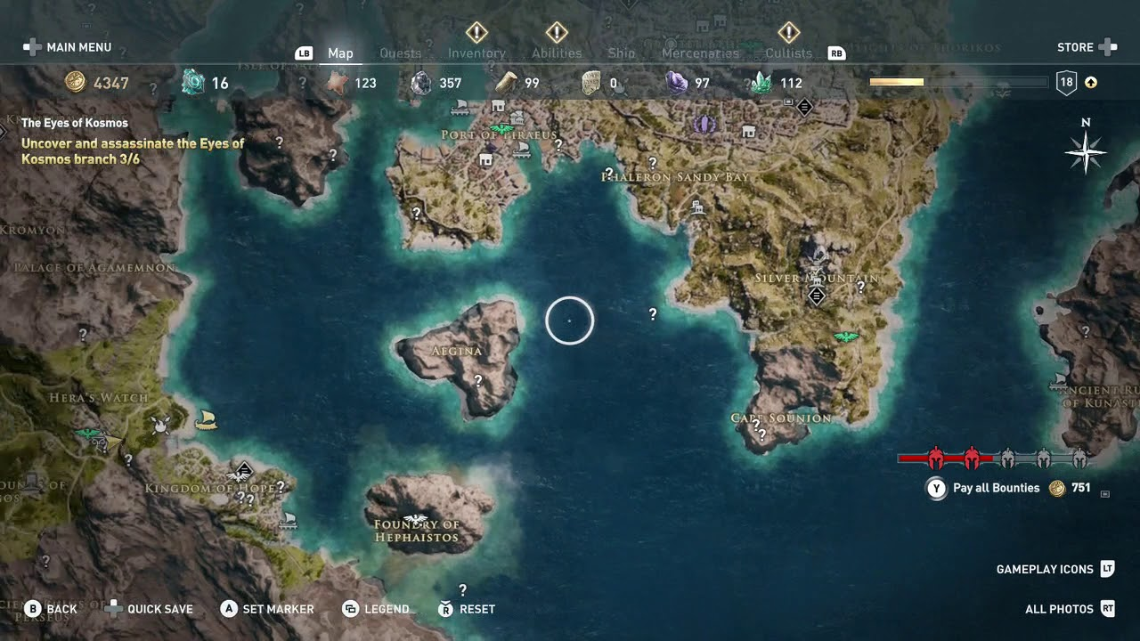 Assassin S Creed Odyssey Get To Fast Travel Point City Of Argos Argolis Region