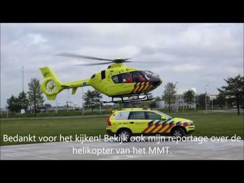 REPORT: DUTCH MEDICAL AIR ASSISTANCE OF AMSTERDAM (HELICOPTER & RESCUE CAR)