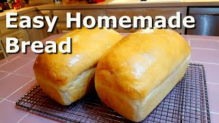 Homemade Bread for Beginners - Easy