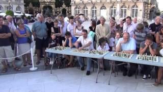 La Nuit des Echecs : simultanées géantes place Stanislas (1/2)