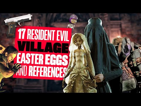 17 Best Resident Evil Village Easter Eggs And References - LIVING DOLLS, BOULDER PUNCHING AND MORE!