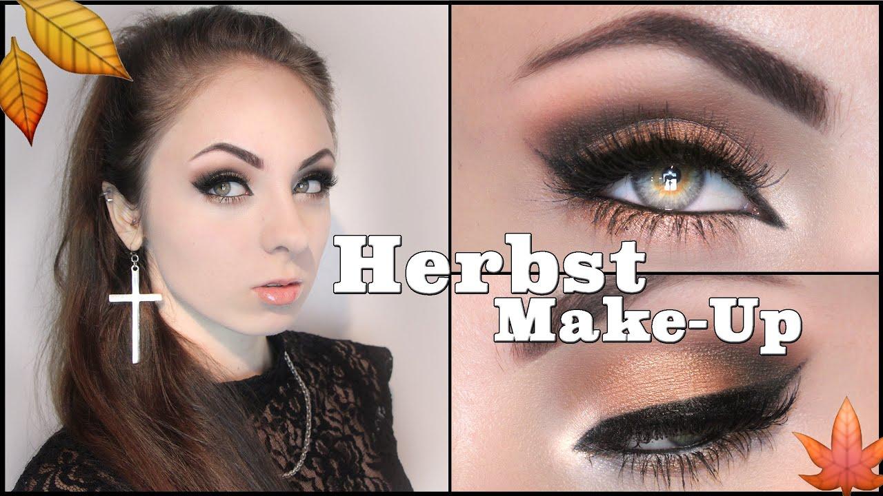 Herbst Make Up : herbst make up 2014 goldt ne i hannah black youtube ~ Watch28wear.com Haus und Dekorationen