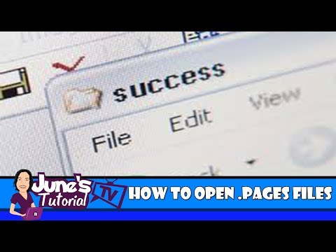 3 Easy Steps:  How To Open .Pages Files On A Windows PC:  If You Don't Own A Mac!