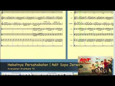 Hebatnya Persahabatan | Adit Sopo Jarwo | Drumband TK