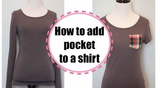 T shirt Transformation, Sewing project for beginners