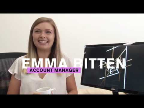 A Day In The Life Of Account Manager, Emma Bitten!