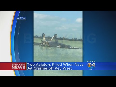 Navy Jet Crashes Off Key West, Killing Two Crew Members