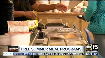Queen Creek School District feeds hundreds with free summer program