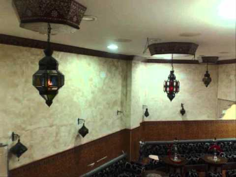 Salones y decoracion marroqui.wmv - YouTube