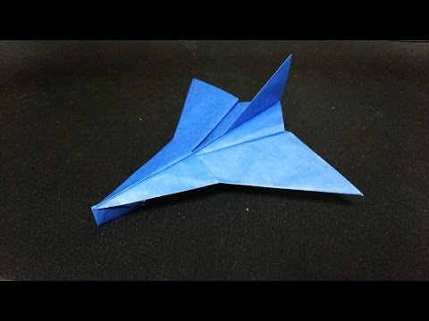 飛行機 折り紙 : 飛行機 折り紙 : youtube.com