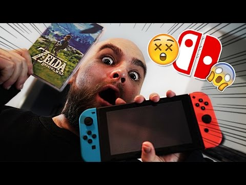 😱NINTENDO SWITCH in unserer POST! (Unboxing + Zelda)😱