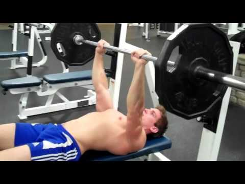 How To: Close-Grip Barbell Bench Press