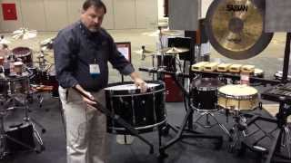 PASIC 2013: Pearl Multi-Fit Bass Drum Leg Set