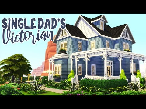 Single Dad's Victorian || The Sims 4: Speed Build
