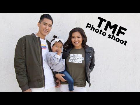 TMF Photo Shoot | The Mongolian Family