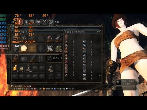 Dark Souls 2 Scholar Of The First Sin On Core 2 Quad Q9400 Radeon Hd 7570 (low End Pc)