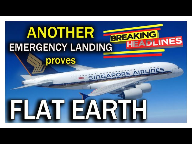 ANOTHER Emergency Landing in Moscow proves FLAT EARTH