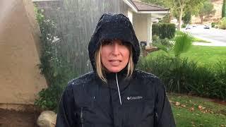 Rain Jacket Fail - Outdoor Blonde Outtake