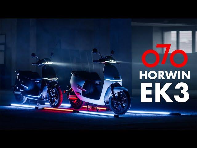 Cum Arata Horwin Ek3 - Scuterul Electric din Viitor! || Electric Scooter