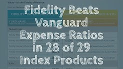 Fidelity Beats Vanguard Expense Ratios for Index ETFs - Your Retirement Is At Stake!