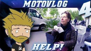 MotoVLOG #4 MANIF ET MAMIE EN DETRESSE
