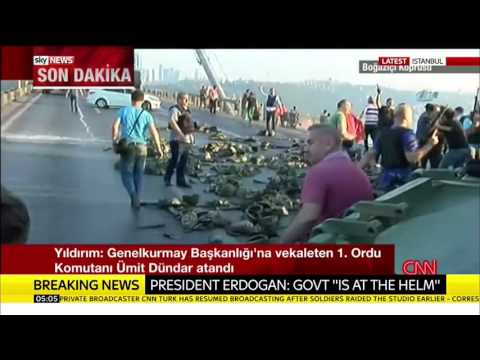 Turkey Coup: Civilians Swarm Tanks In Istanbul