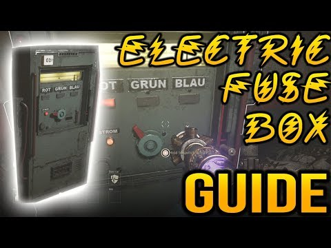 Call Of Duty WW2 Zombies: Electric Fuse Box Guide