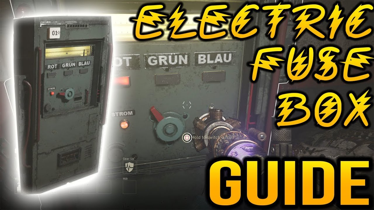 call of duty ww2 zombies electric fuse box guide youtube rh youtube com friday the 13th game fuse box locations Car Fuse Box