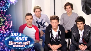 One Direction Pranked By Ant & Dec - Saturday Night Takeaway thumbnail