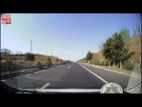 Driving in China G25 Changchun-Shenzhen Expressway Lingyuan to Chengde 长深高速凌源至承德