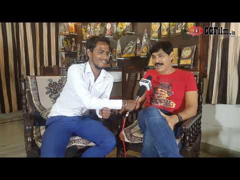 Interview with CG Film Actor Prakash Awasthi in Film Dedh Honsiyar