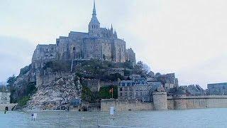 """Fransa'nın Atlantik kıyısında """"yüzyılın gelgiti"""""""