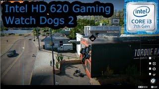 intel hd 620 gaming watch dogs 2 i3 7100u i5 7200u i7 7500u kaby lake