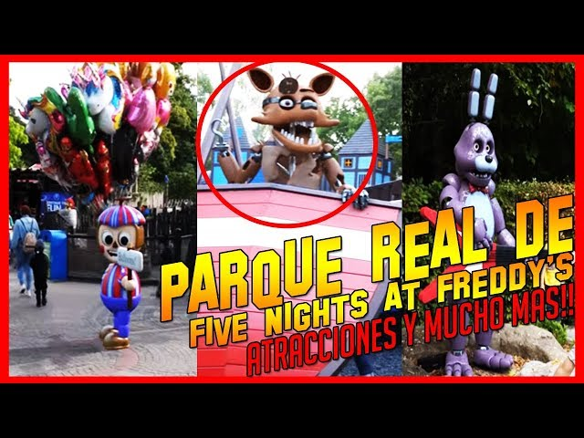 ¡Noticia! | Parque Real de Atracciones & Temático de Five Nights at Freddys | Fnaf Park