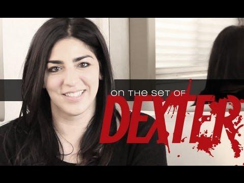 On the set of 'Dexter': Michelle Ceglia
