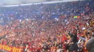 Hamburg - Galatasaray Uefa cup ultrAslan Berlin omuz omuza