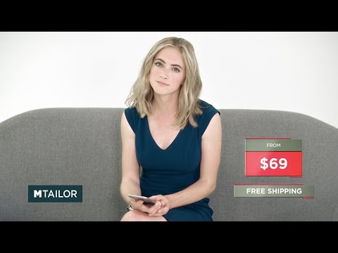 MTailor and Emily Wickersham