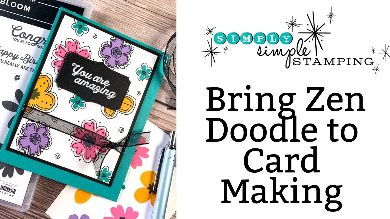 Zen Doodle Patterns in Card Making? How to Add Creative Fun to Your Cards