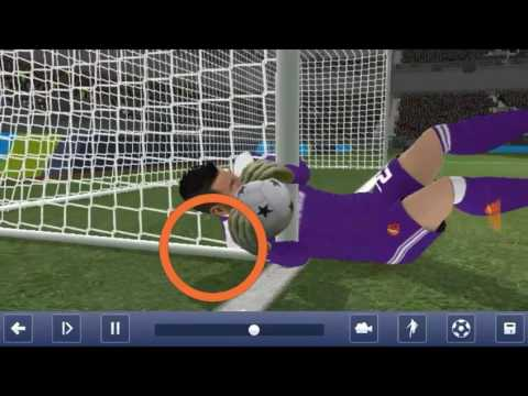 COMEDY !! Dream League Soccer 2017 - Glitch (#2), funny fail