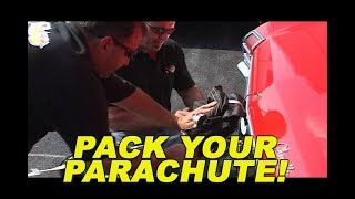 How To Pack Your Parachute For Racing by Nick Scavo V8TV Classic Video