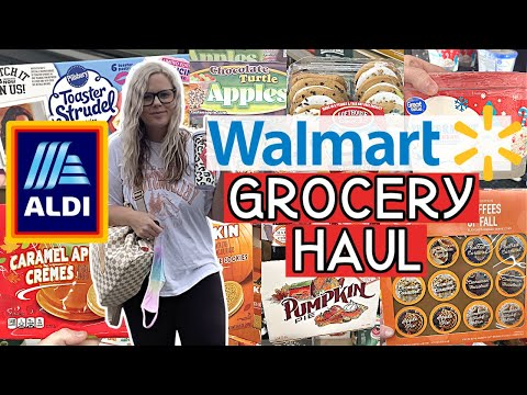 HUGE WALMART GROCERY HAUL 2020 // NEW ALDI FINDS // WEEKLY GROCERY SHOP WITH ME