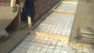 видео Как своими руками сделать ремонт бетонной отмостки