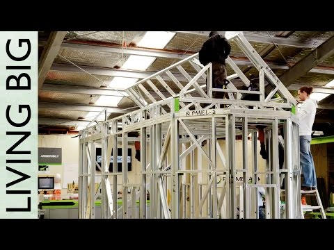 Steel Framing With FRAMECAD: Erecting the Frame