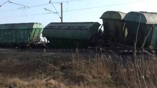Авария на ЖД пгт Веселиново(, 2014-03-15T19:37:31.000Z)