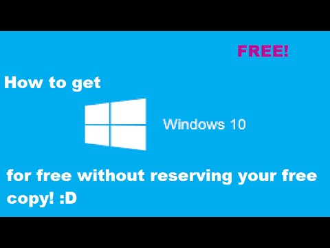 how to get a free copy of windows 10