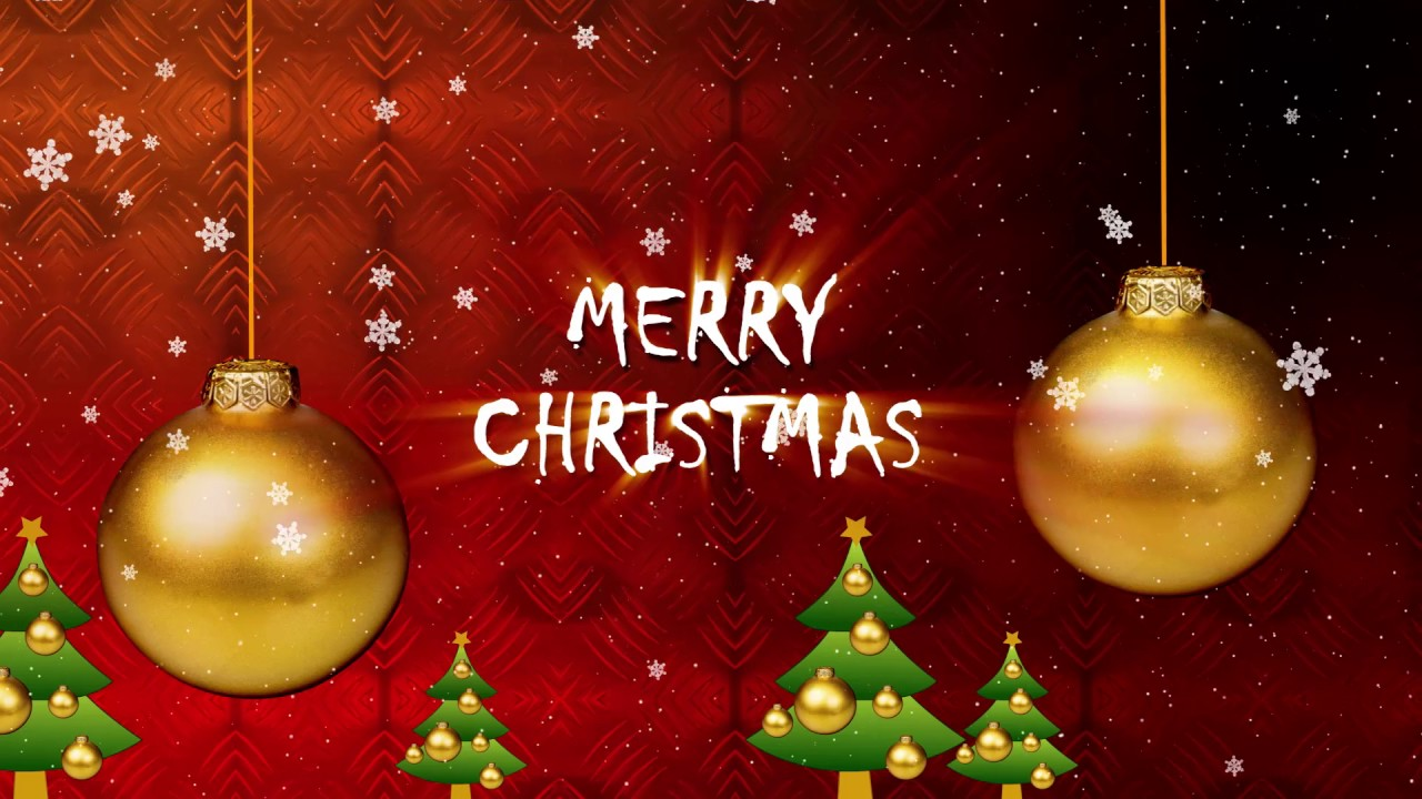 Merry Christmas Greeting Video 2016 - YouTube