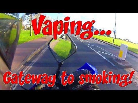 Vaping....Gateway to smoking!