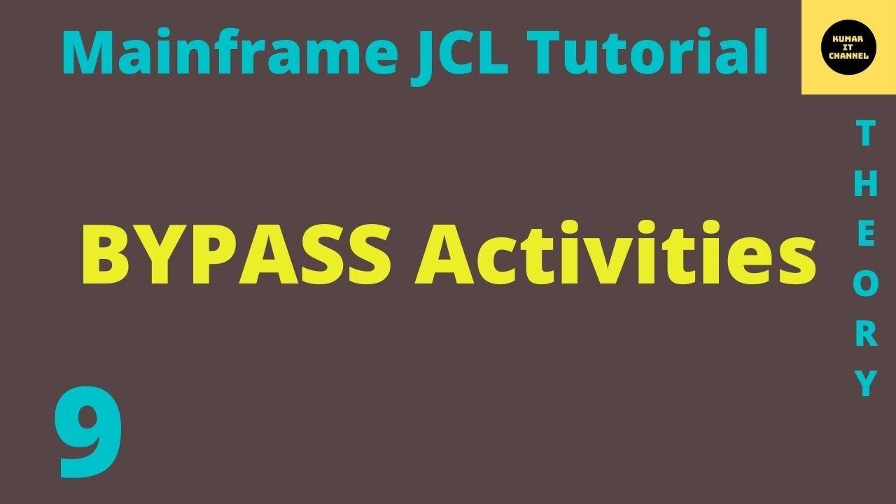 Mainframe JCL Tutorial Part 9
