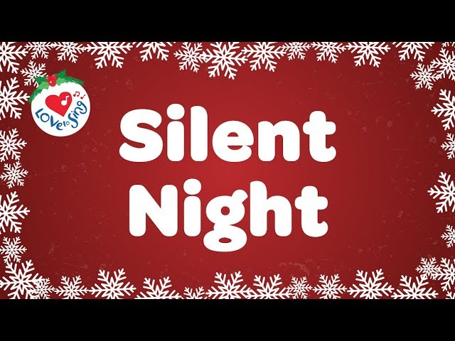 Silent Night with Lyrics | Christmas Carol | Sung by top Talented Choir #1